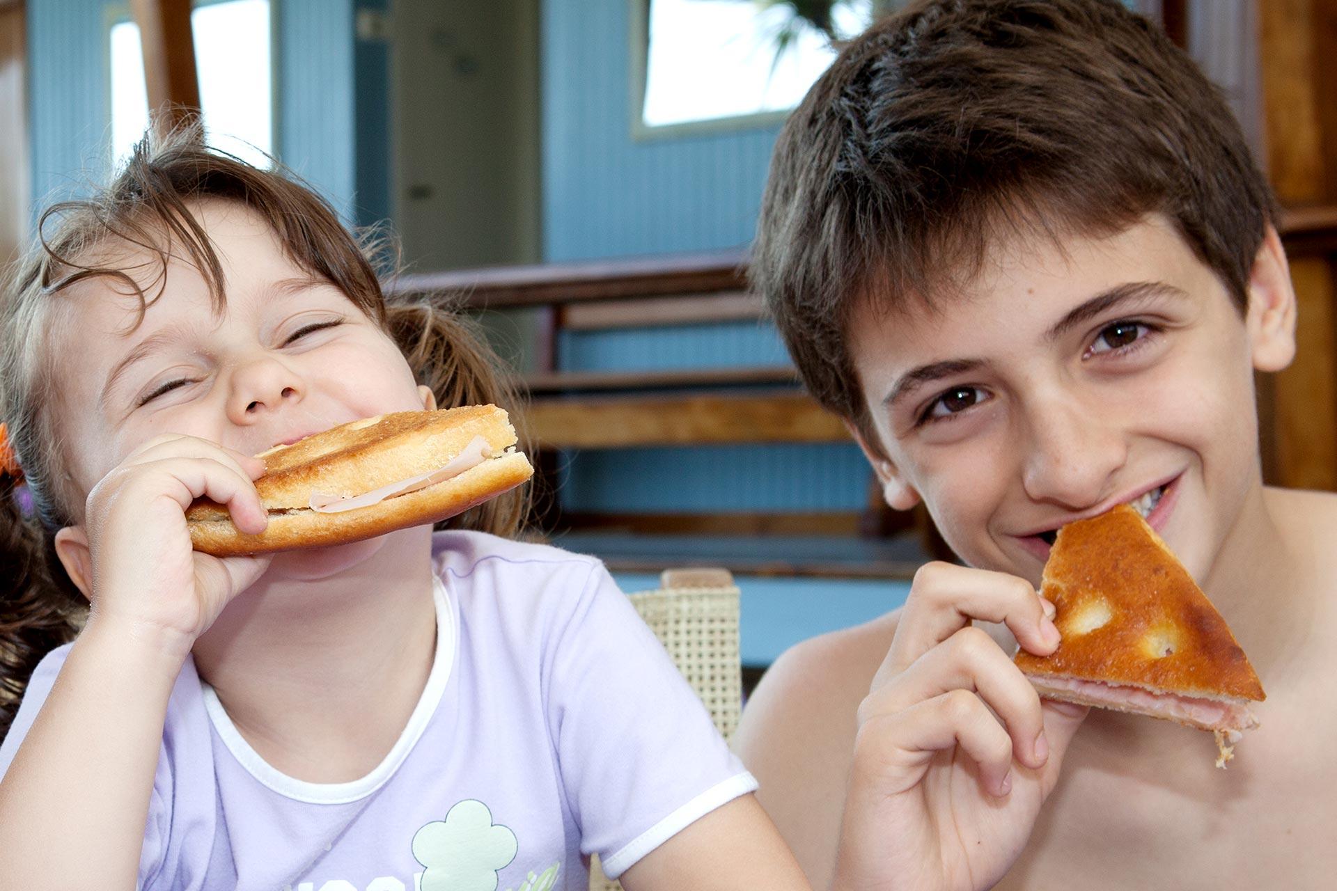 Bar e Ristorante, cucina e gastronomia per i piccoli, menu bambini
